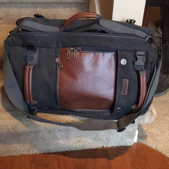 Bags Hybrid Briefcasebackpack Poshmark